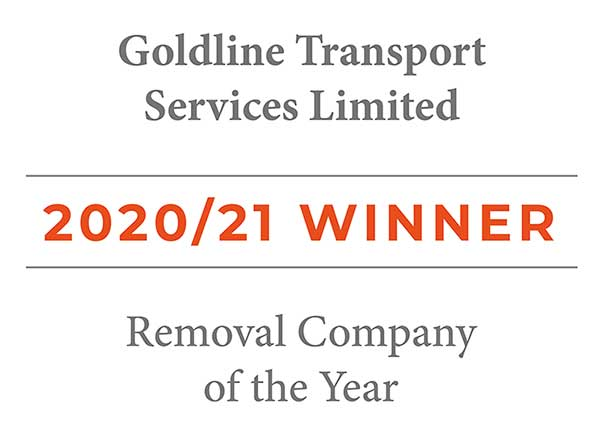 Removal Company of The Year winner Logo